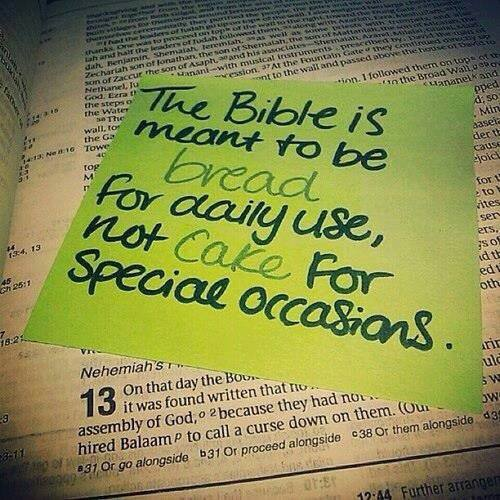 bible is bread
